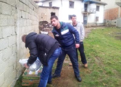 aksioni humanitar