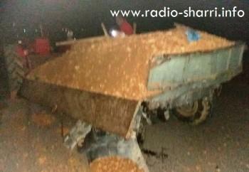 aksident mejdan traktori