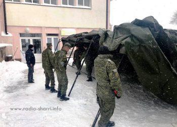 FSK-ja në Dragash – Ngre tendë para QKMF-së!