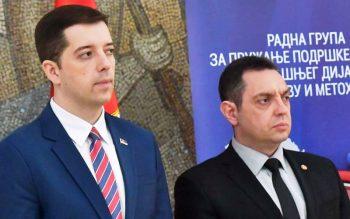 Vulin dhe Gjuriq sot masin forcat me Policinë e Kosovës!
