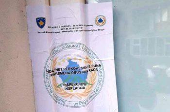 Inspektoriati i Dragashit në aksion – Kontrollon bastoret